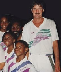 Young Andi Roddick